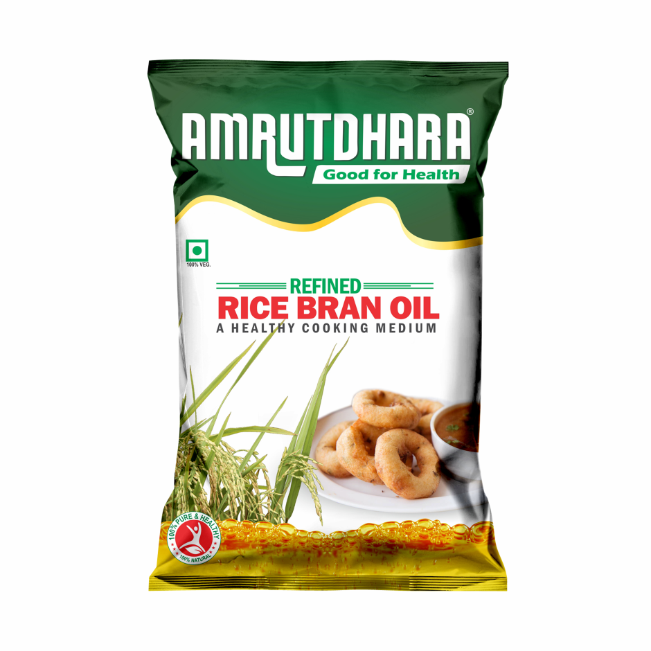 Amrutdhara Rice Bran  Oil