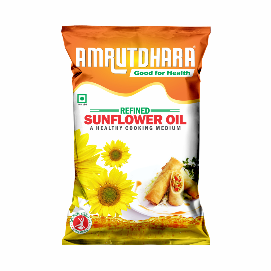 Amrutdhara Sunflower Oil